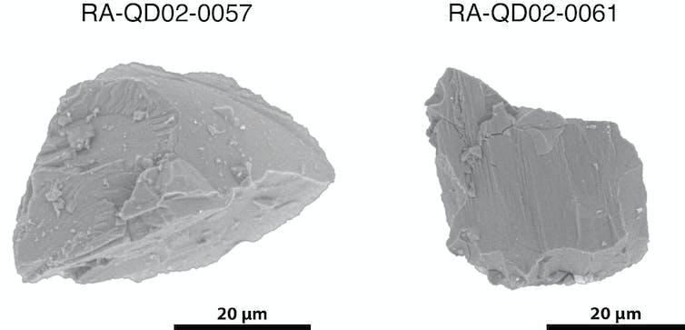 Ilustrasi asteroid yang menabrak Bumi.