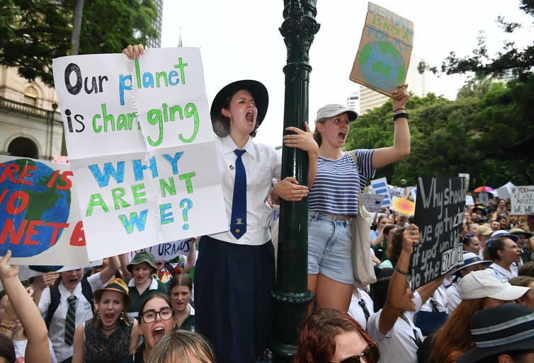 Young people won't accept inaction on climate change, and they'll be voting in droves