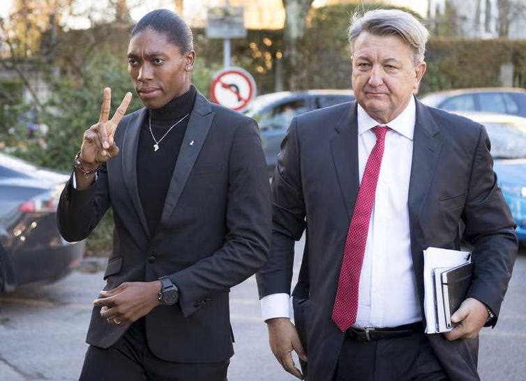 It's not clear where human rights fit in the legal ruling on athlete Caster Semenya
