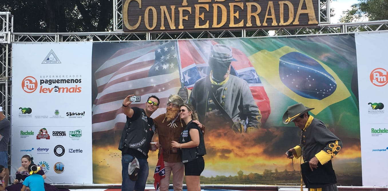 Brazil's long, strange love affair with the Confederacy ignites racial tension