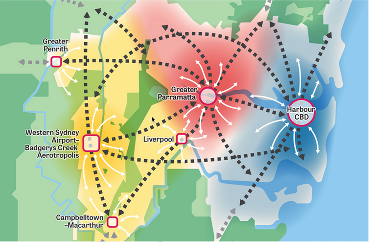 How close is Sydney to the vision of creating three 30-minute cities?