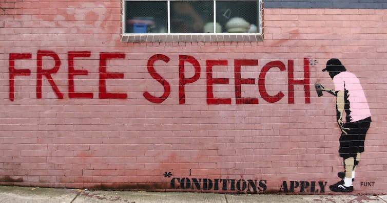 """Freedom of speech can be wrongly viewed as a """"catch-all"""" right for people to say whatever they like online. In some cases, children's views mimicked alt-right arguments in favour of liberty, free speech and the right to offend."""