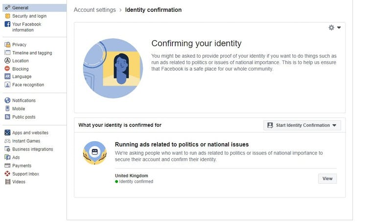 Facebook wants to combat fake news with ID checks – with