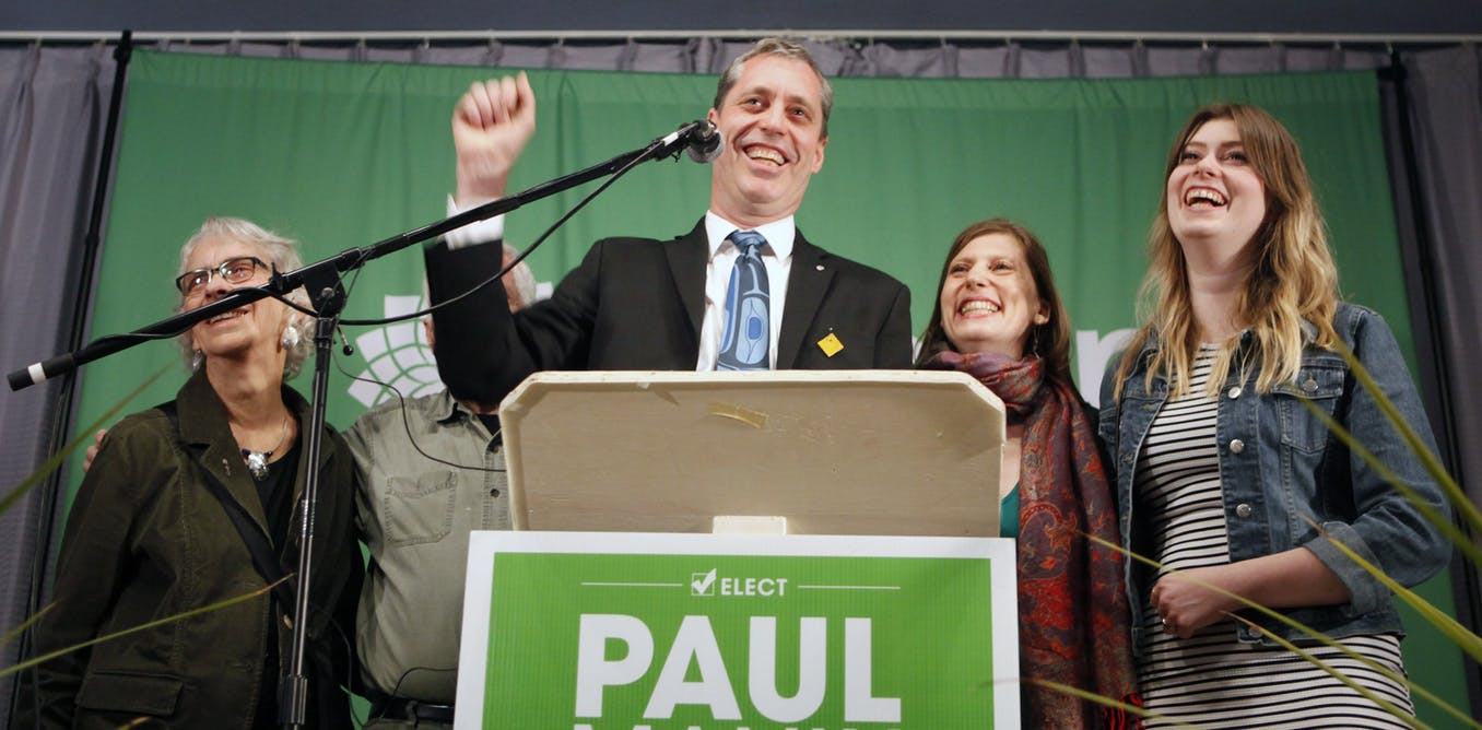 The Wave Nanaimo >> The Green Party wave could spread across Canada