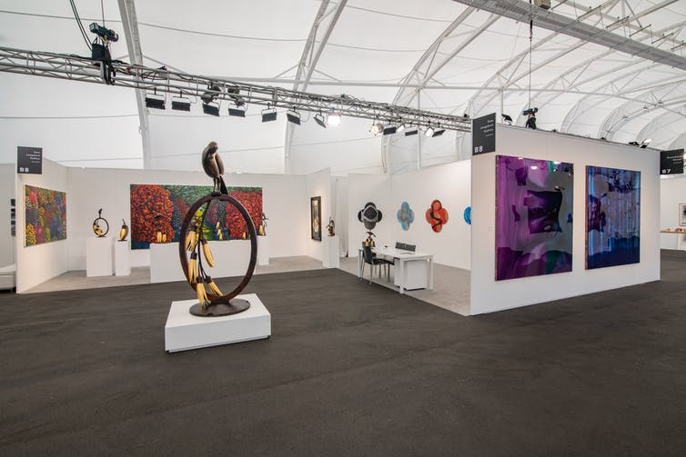 With commercial galleries an endangered species, are art fairs a necessary evil?