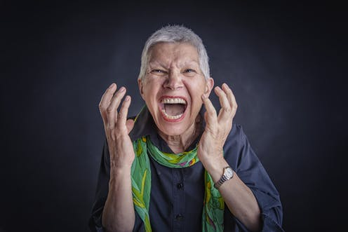 Anger linked to illness in old age