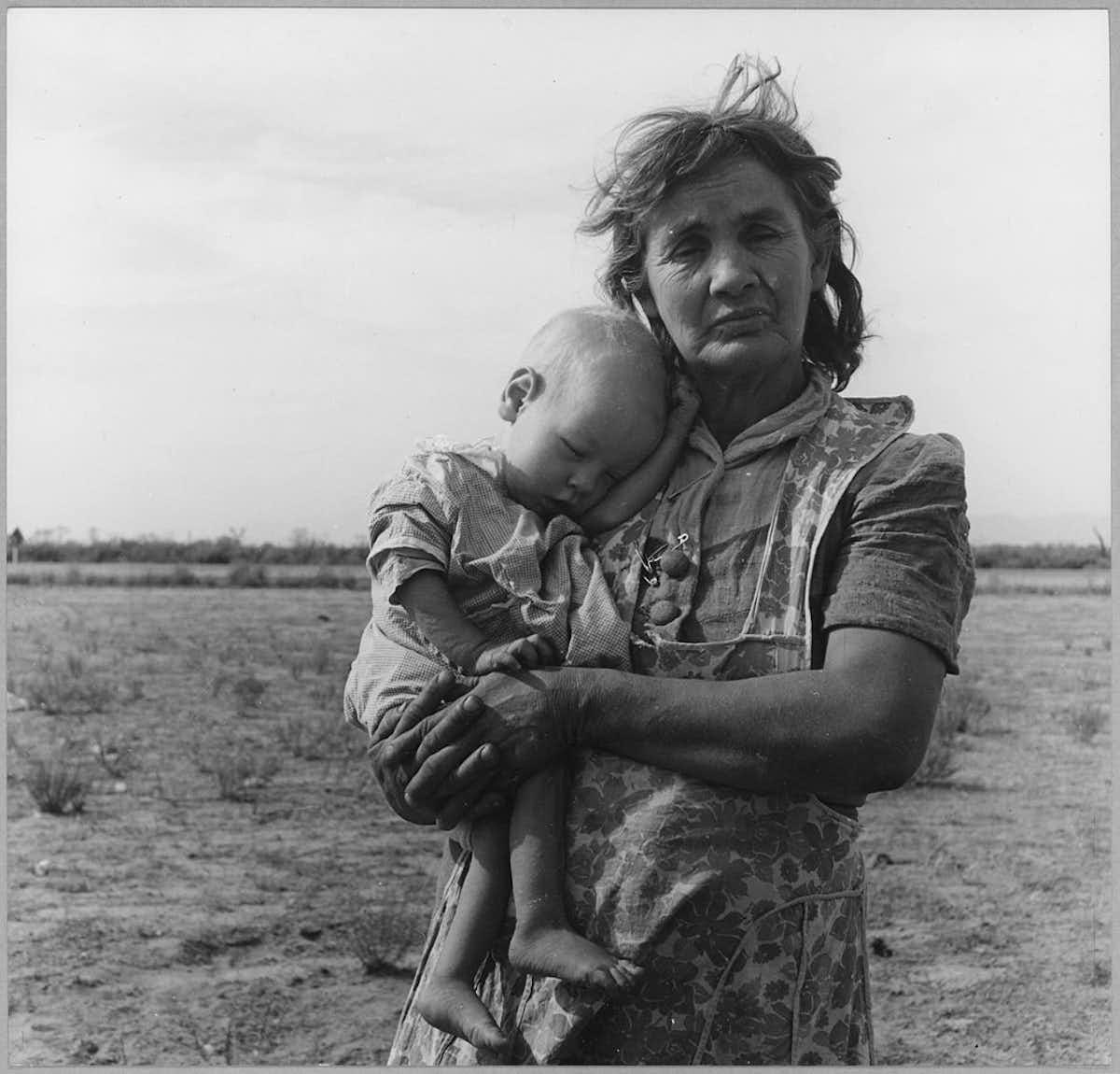 фото великая депрессия доротея ланж оболочкой свинца предполагает
