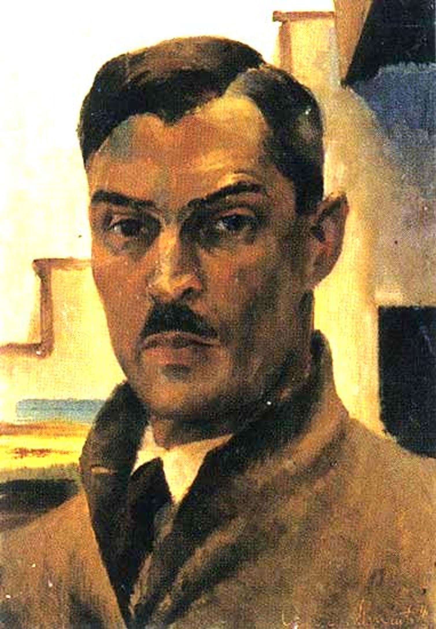 A 1941 self-portrait of painter Victor Arnautoff. Credit: Wikimedia Commons