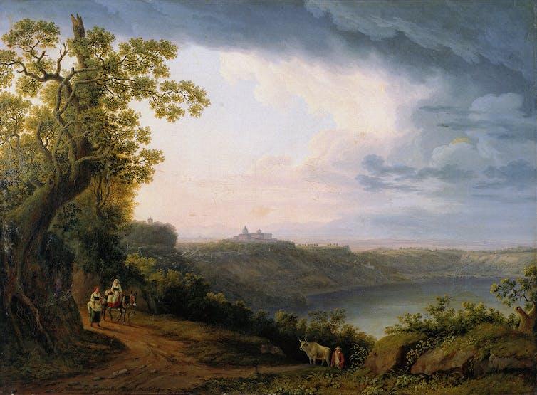 Firepits of the Gods: ancient memories of maar volcanoes