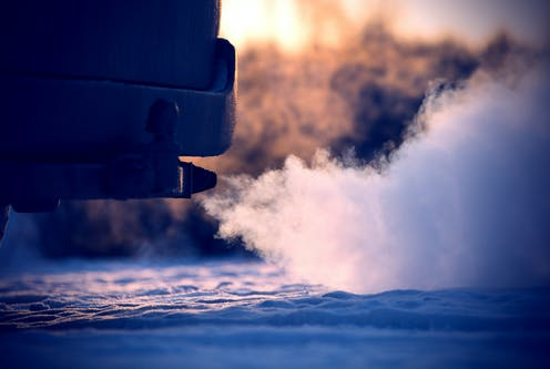 Want to help cut air pollution? You might need to keep your engine on