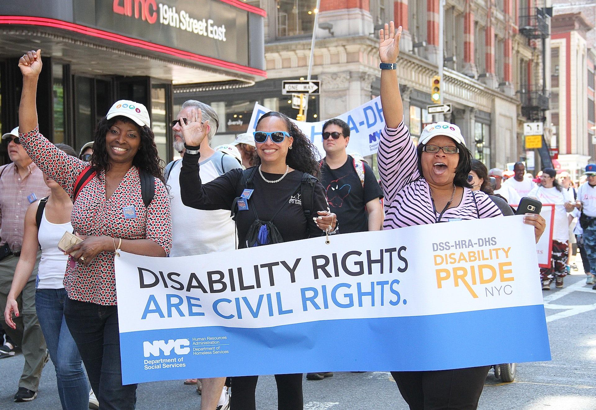 Disability activists