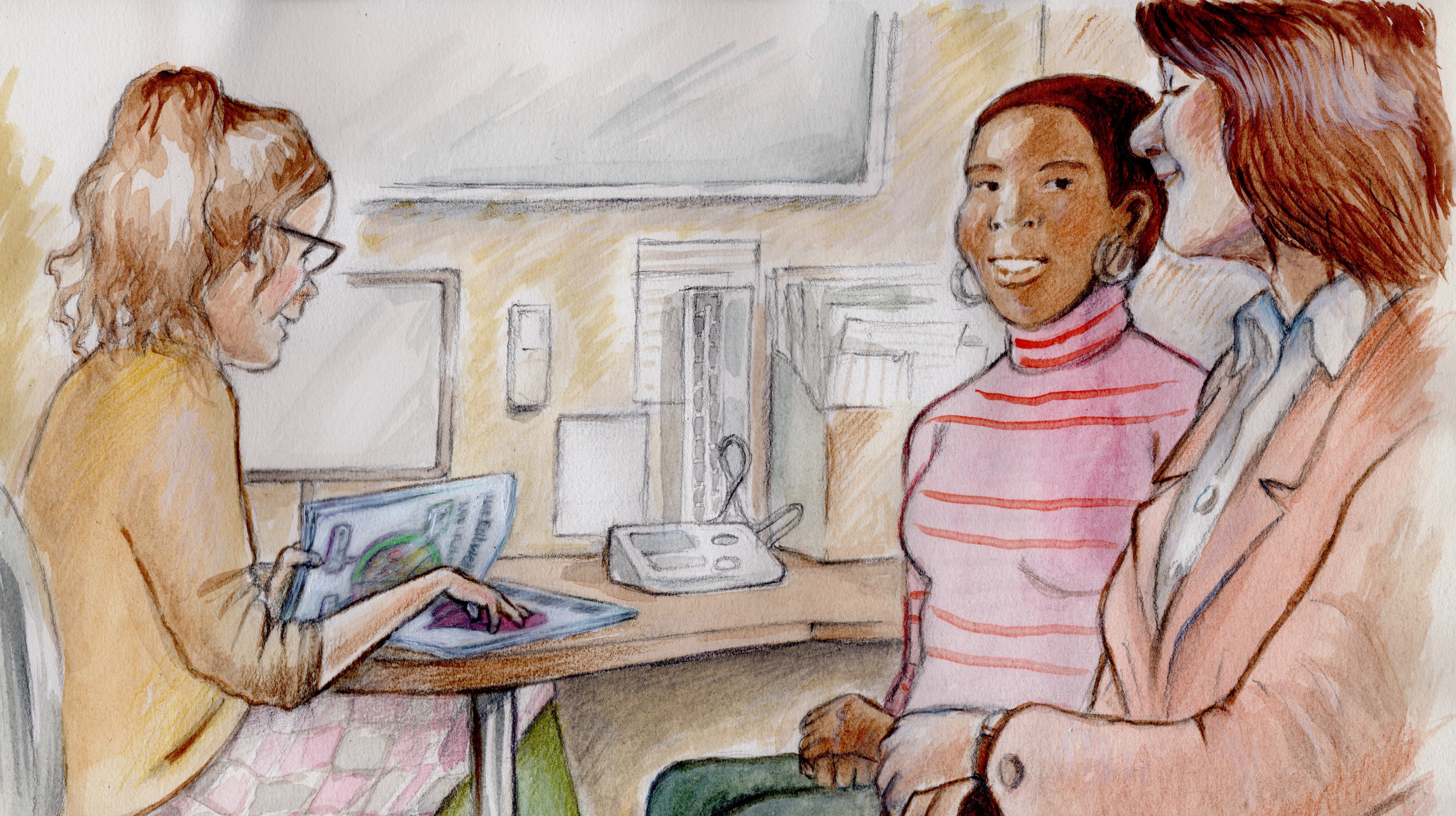 Why a patient may need a companion to speak for them – and the difficult choices they face