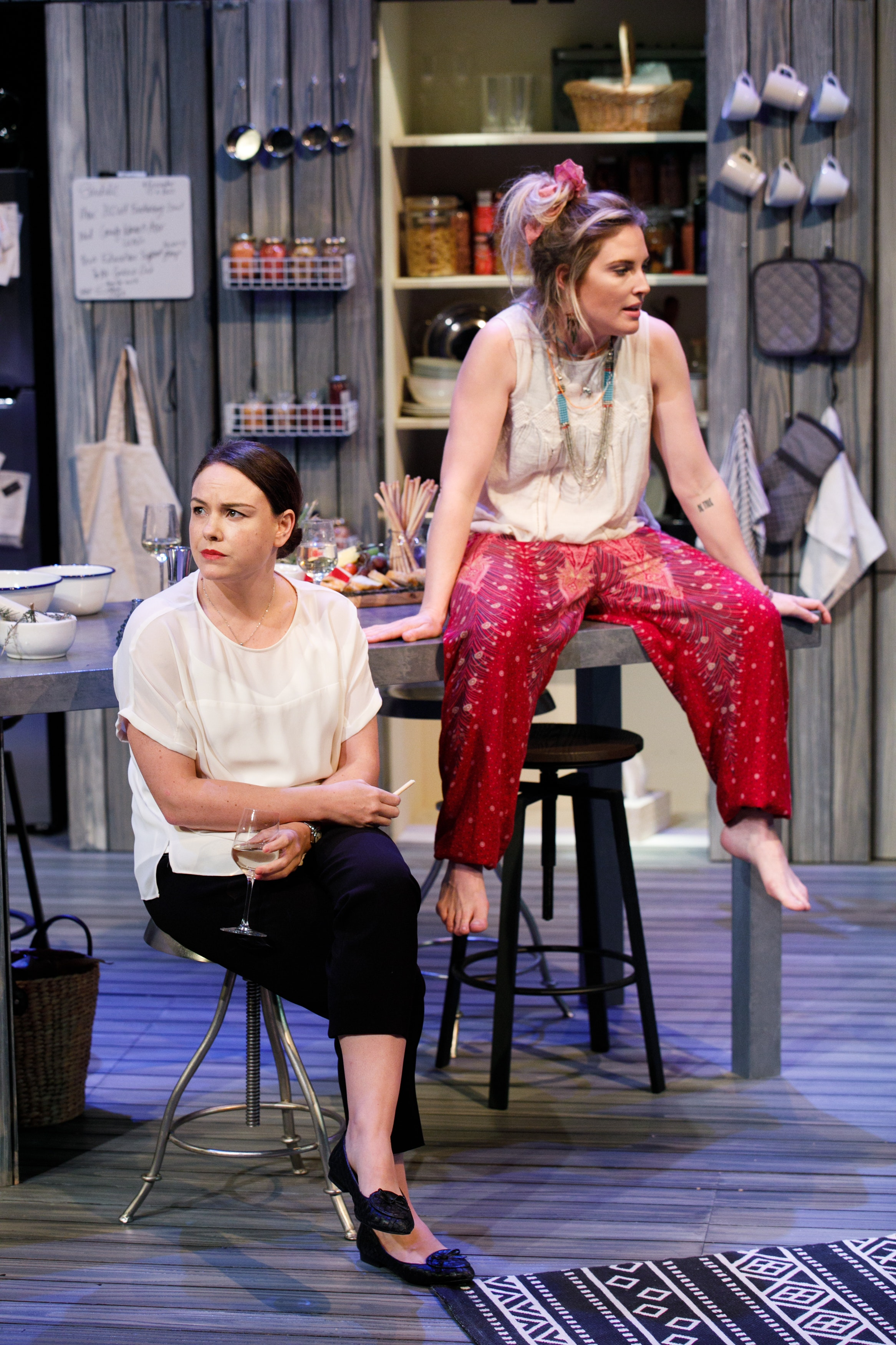 In Black Swan's Water, three vignettes explore the politics of immigration, drought and family dynamics
