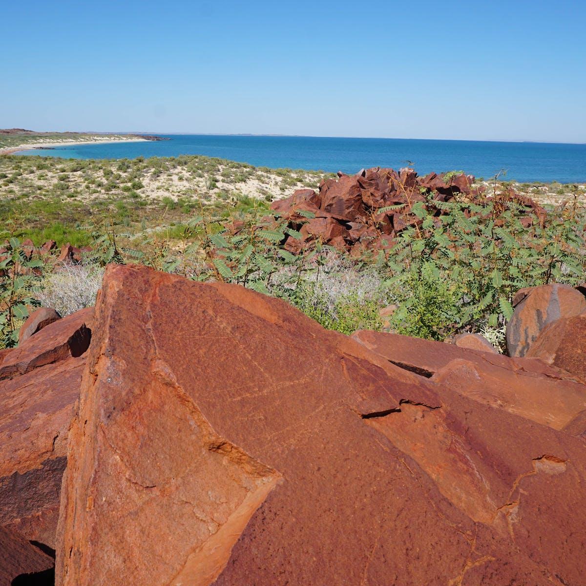 The Murujuga Mermaid: how rock art in WA sheds light on