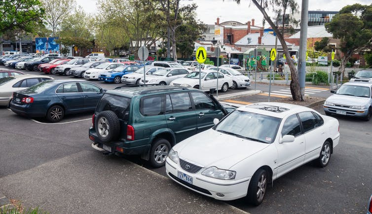 Of all the problems our cities need to fix, lack of car parking isn't one of them