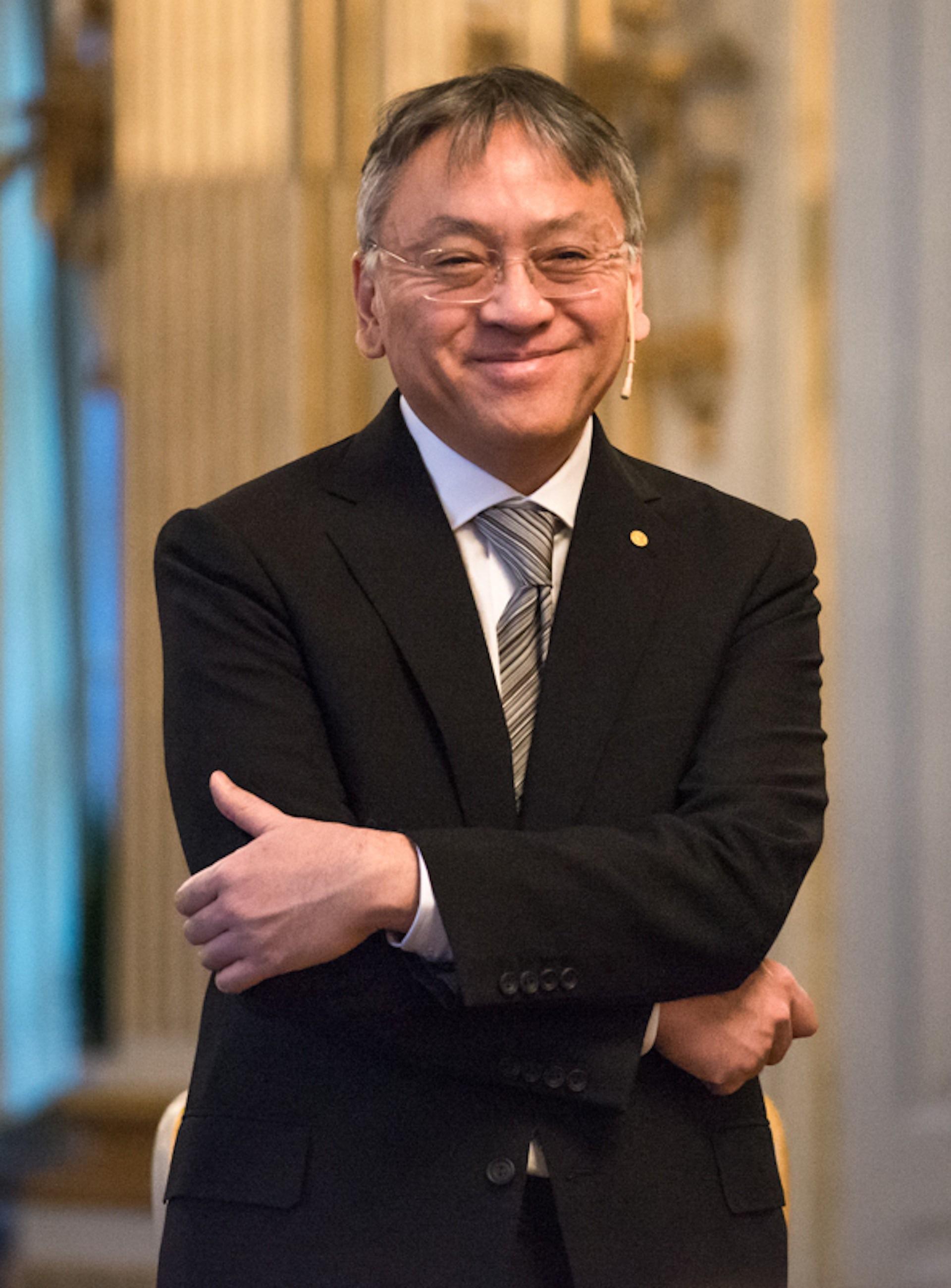 Kazuo Ishiguro. Photo credit: Wikimedia Commons