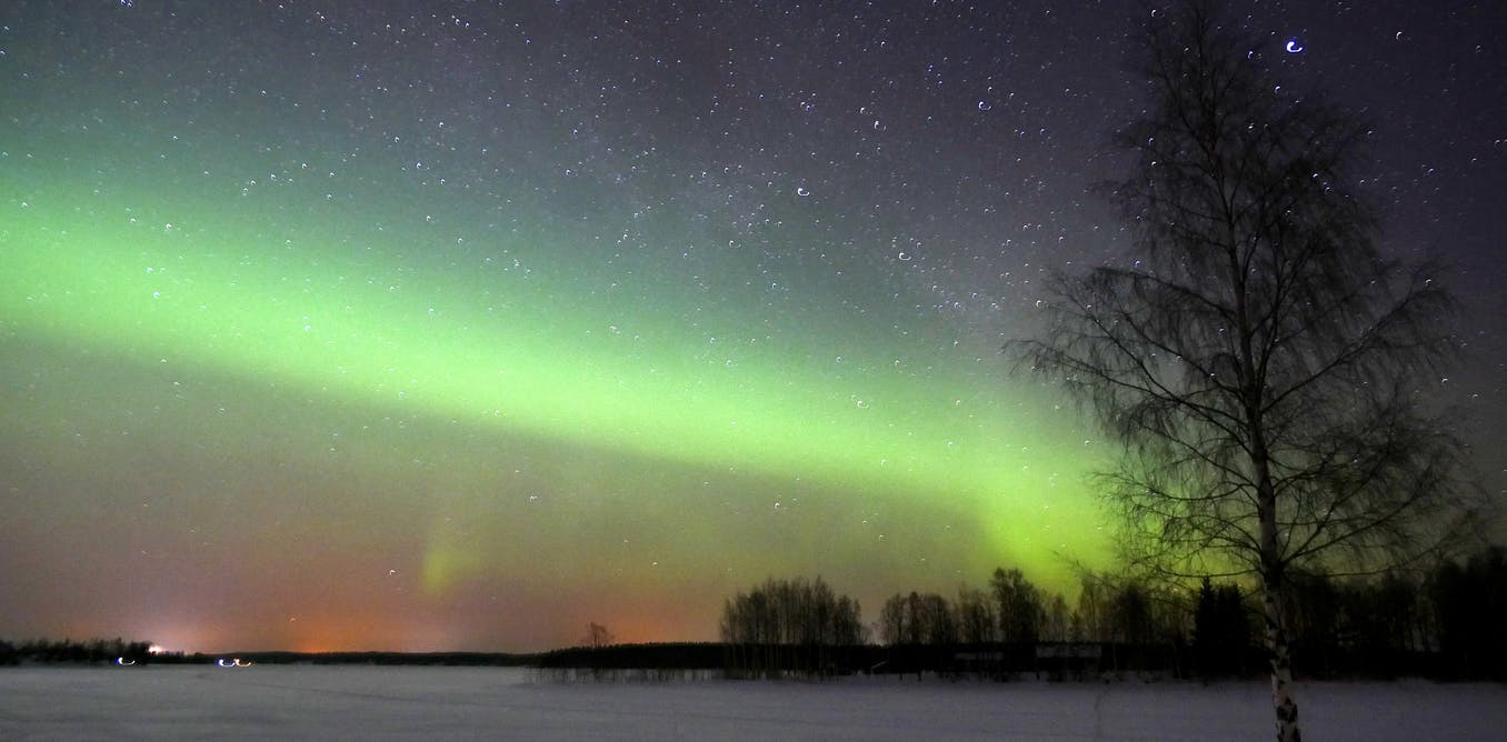 The Earth's magnetic north pole is shifting rapidly – so what will happen to the northern lights?