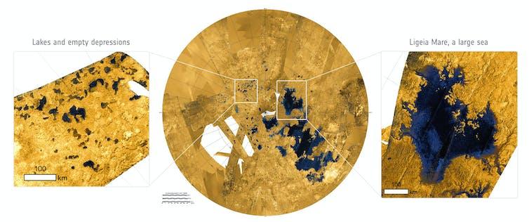 Si viaja a Titán, deje el paraguas y llévese un buen