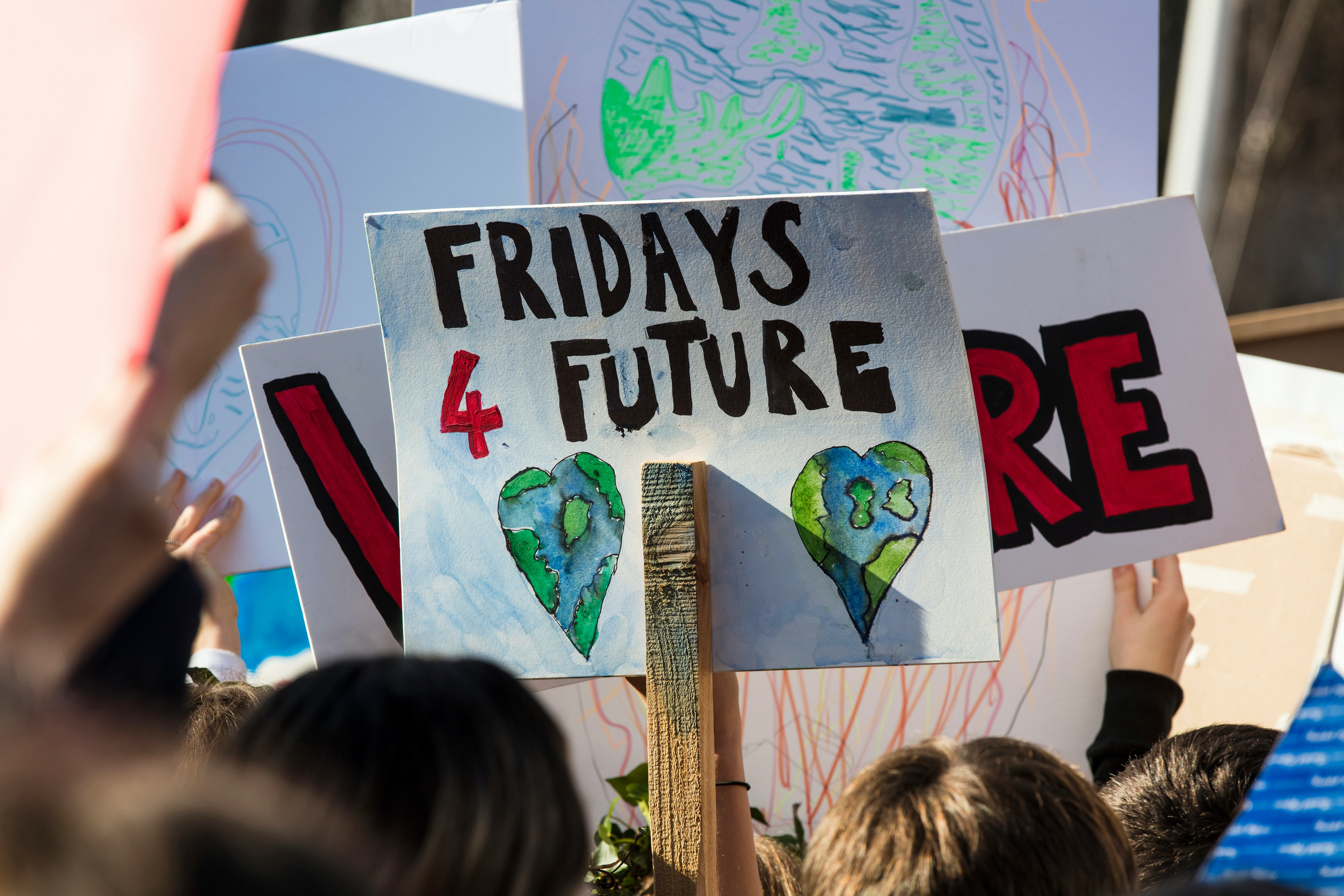 'They'll give me a detention but it'll be worth it' – a climate scientist interviews his climate striking daughter