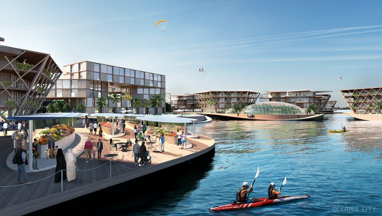 Floating Cities are back on the drawing board.