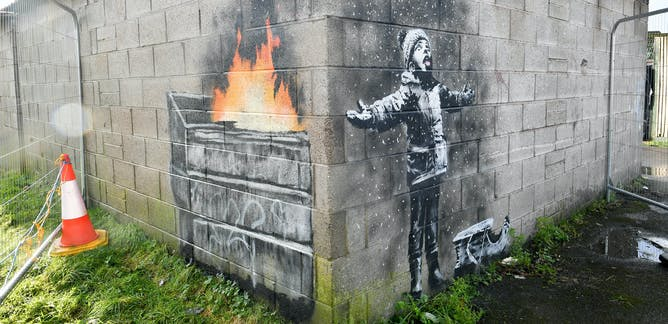 banksy – News, Research and Analysis – The Conversation – page 1