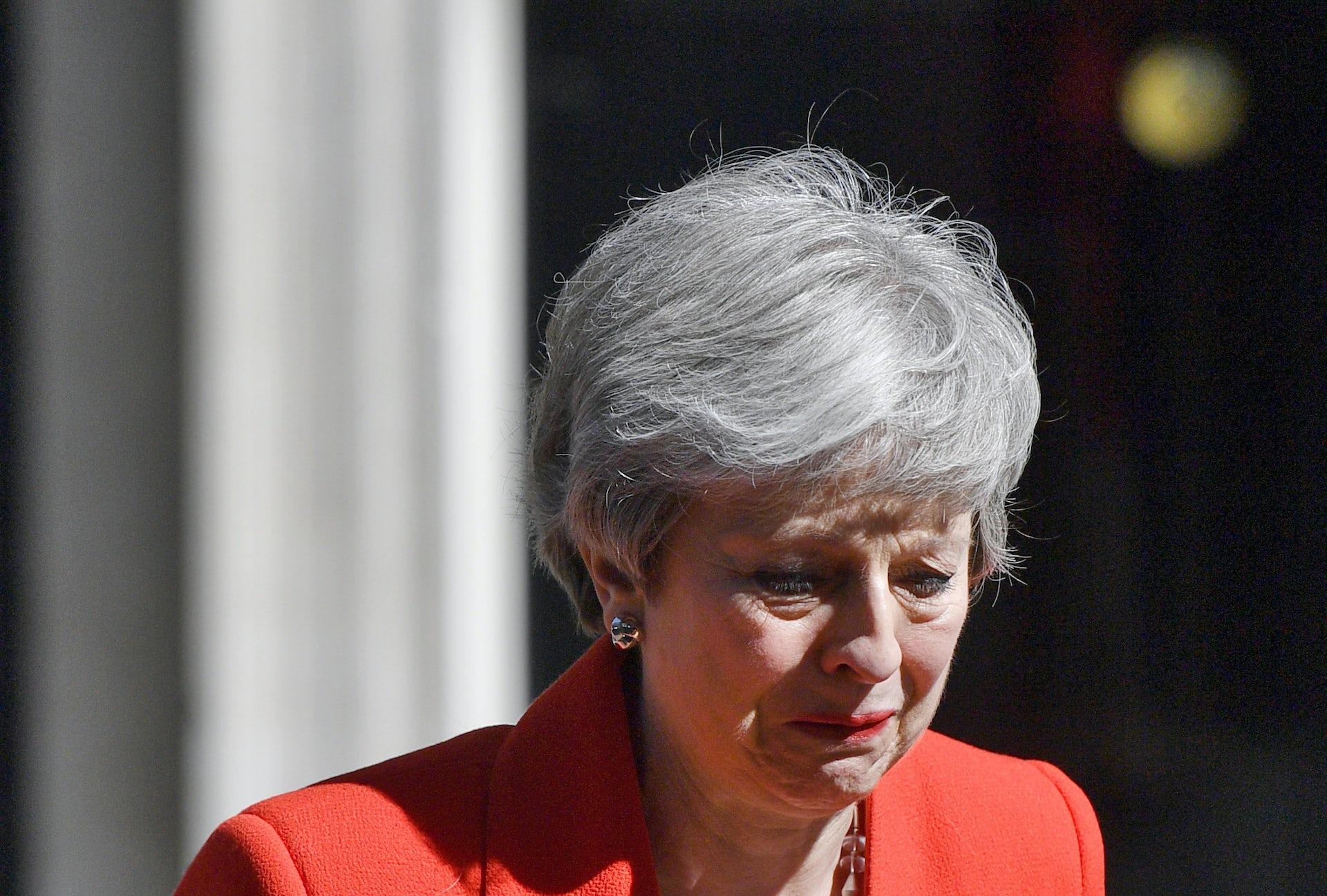 Theresa May resigns as British...