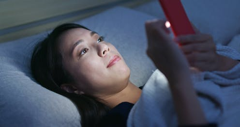 Adolescents Nighttime Social Media Use >> Limiting Screen Use Is Not The Way To Tackle Teenage Sleep Problems