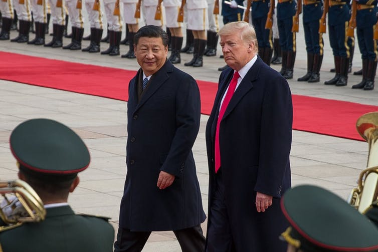 keeping peace with both China and the US