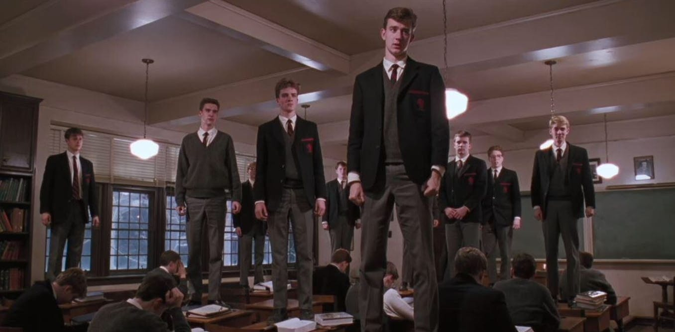 As Dead Poets Society turns 30, classroom rapport is still relevant and  risky