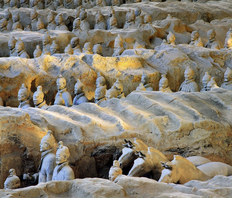 A scope as big as humanity can conjure: the Terracotta Warriors Cai Guo-Qiang