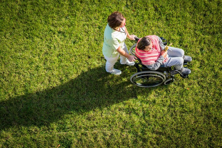 NDIS disability insurance support