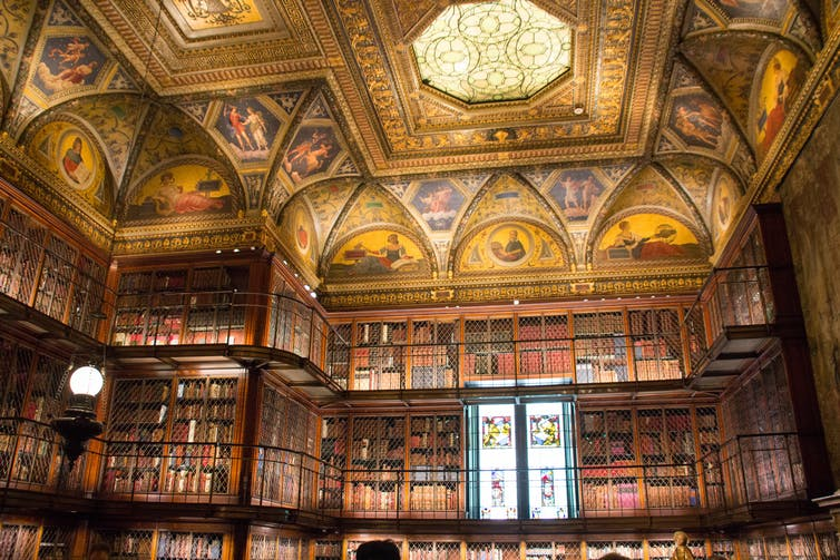 Friday essay: the library – humanist ideal, social glue and now, tourism hotspot