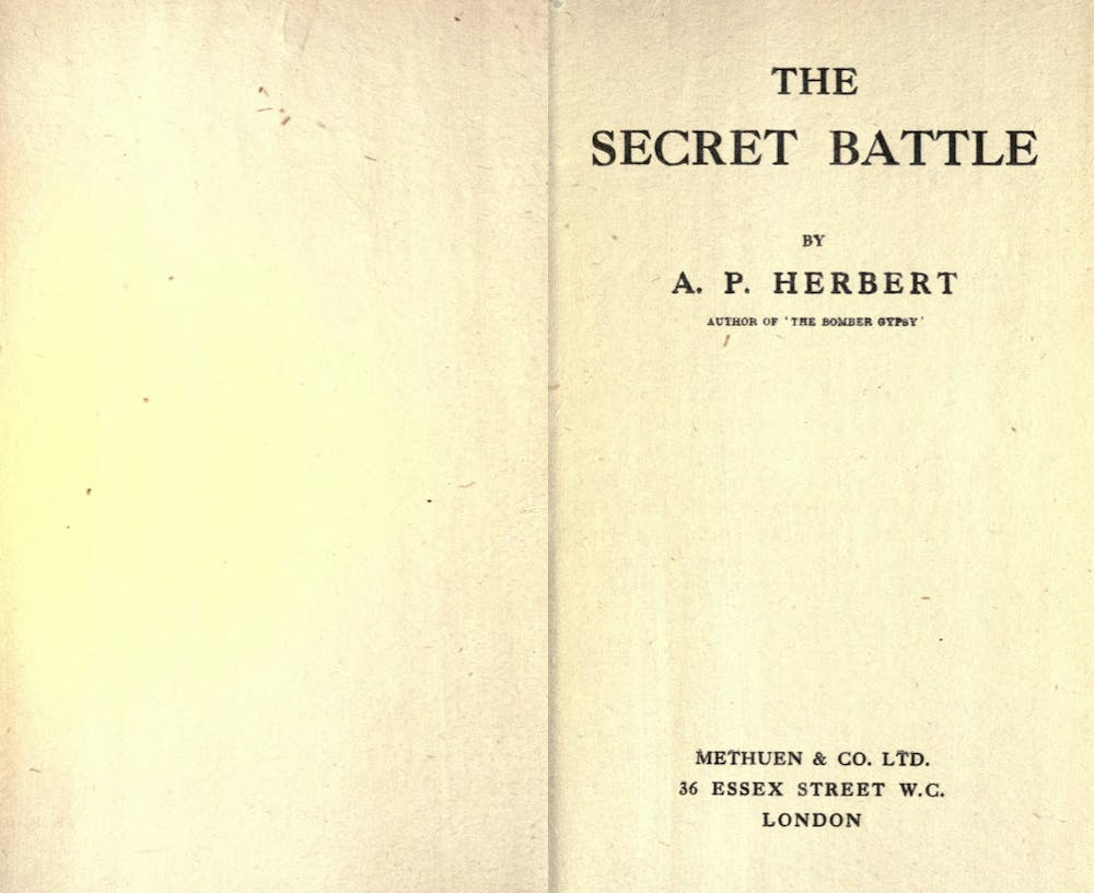 Herbert's book brought the injustices of the death penalty for cowardice to public debate. Credit: The Conversation