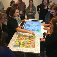 Playing games? It's a serious way to win community backing for change