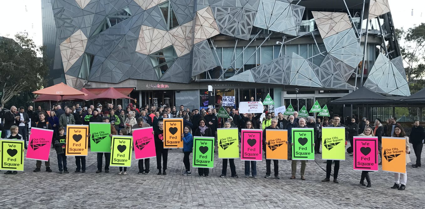 Apple controversy masks the real failures of Federation Square