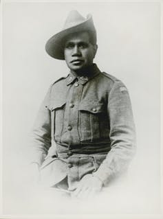 How we tracked down the only known sculpture of a WWI Indigenous soldier