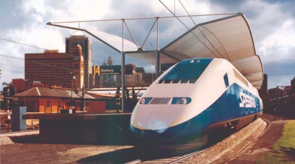 We can halve train travel times between our cities by moving to