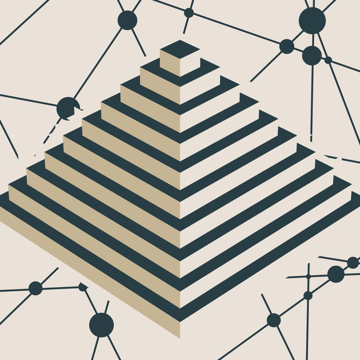 Multi-level marketing has been likened to a legal pyramid