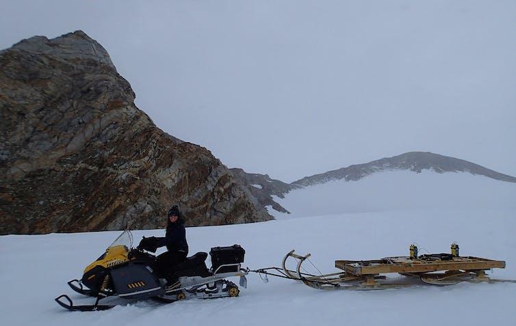 Pusat Penelitian The Princess Elisabeth Antartica Research Station.