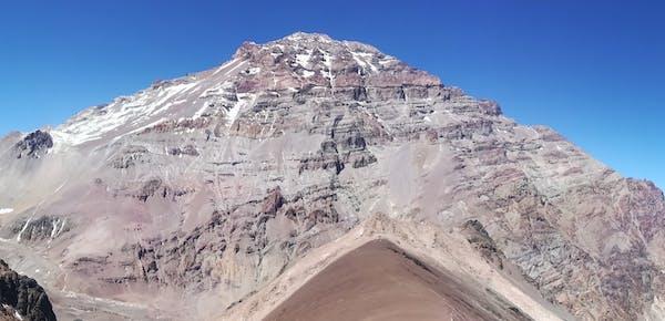 Mount Aconcagua in Argentina. Credit: Yana Wengel/The Conversation