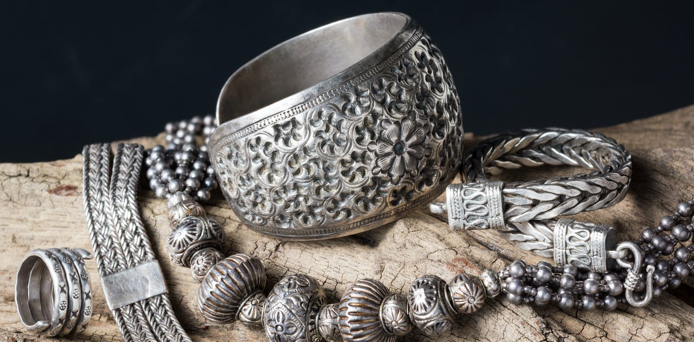 Silver makes beautiful bling but it's also good for keeping the bacterial bugs away