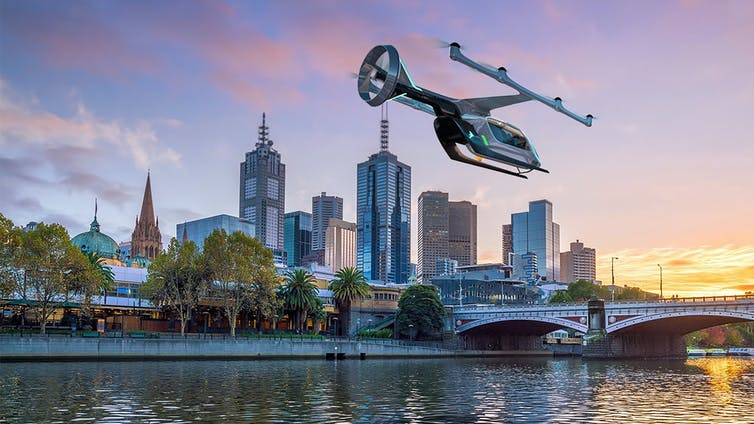 flying taxi trials may lead to passenger service by 2023