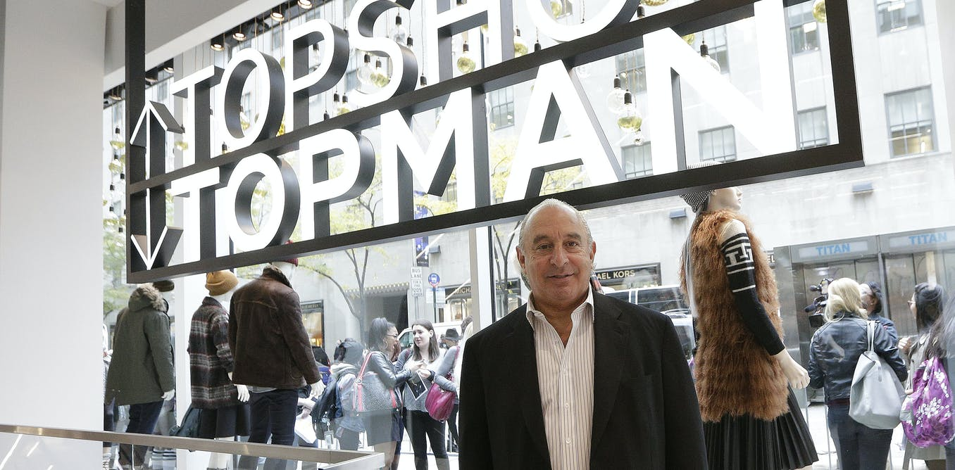The rise and fall of Philip Green's Arcadia Group