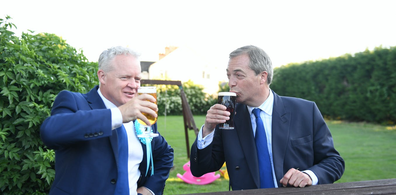 Nigel Farage's Brexit Party attracts more men voters than women – here's why that's a problem