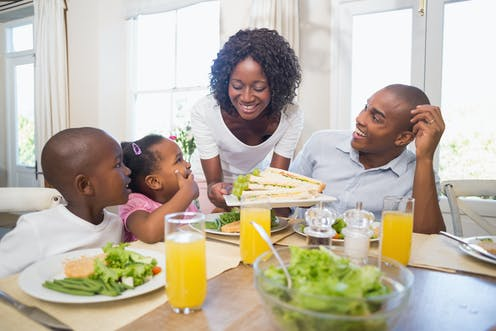 Image result for african family that eats together stays together