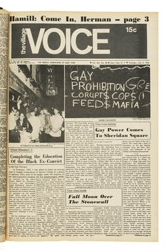 How the New York media covered the Stonewall riots