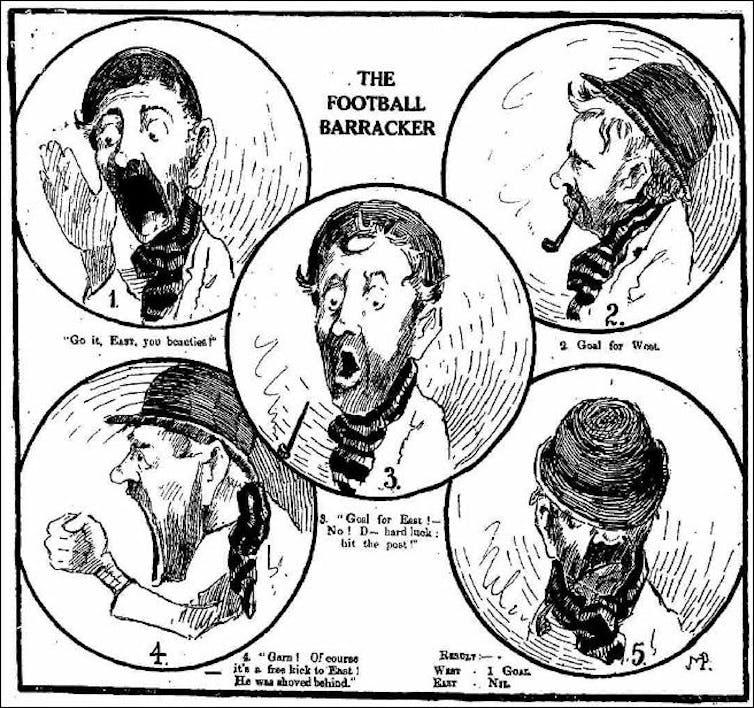 the sordid history of AFL barracking
