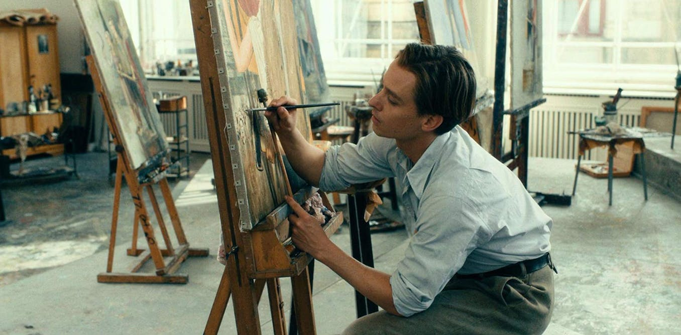 In Never Look Away we finally have a painter biopic offering