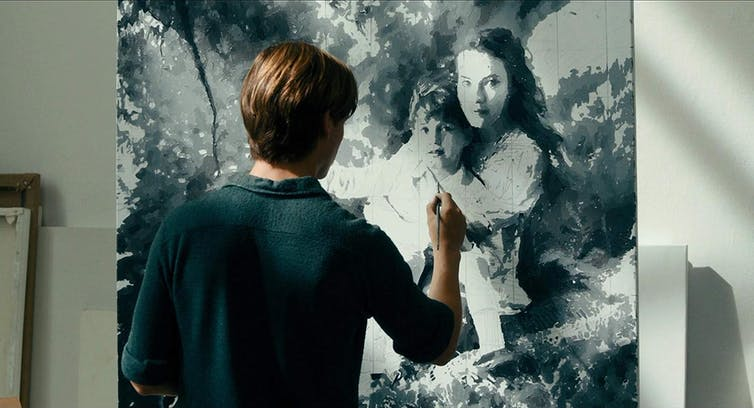 In Never Look Away we finally have a painter biopic offering insight into the creative process