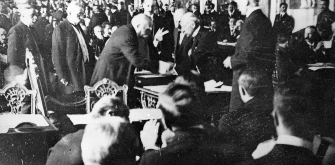 Le Traité de Versailles ou la paix en trompe-l'œil